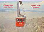 Click here to enlarge image and see more about item cs4717: Sandia Peak Aerial Tramway,Albuquerque, New Mexico