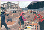 Click here to enlarge image and see more about item cs4721: Street Vendors, Yongning China