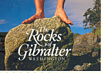 Click here to enlarge image and see more about item cs4727: The Rocks of Gibralter Washington cs4727