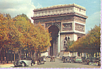 Click here to enlarge image and see more about item cs4732: L Arc de Triumphe Paris France cs4732