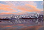Click here to enlarge image and see more about item cs4750: Sunrise Grand Teton National Park WY cs4750