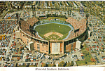 Click here to enlarge image and see more about item cs4785: Memorial Stadium, Baltimore,Maryland