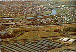 Click here to enlarge image and see more about item cs4811: Aerial View of Fairbanks, Alaska