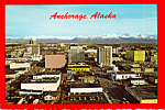Click here to enlarge image and see more about item cs4814: Aerial View of  Anchorage Alaska cs4814