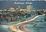 Click here to enlarge image and see more about item cs4820: Anchorage Alaska at Night cs4820