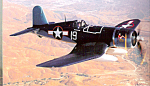 Click here to enlarge image and see more about item cs4837: Chance Vought F4U-1D Corsair