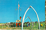 Click here to enlarge image and see more about item cs4855: Eskimo Whale Festival Alaska Postcard cs4855