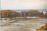 Click here to enlarge image and see more about item cs4866: Clammers  at Low Tide Oregon Coast