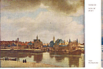 View of Delft  Vermeer Postcard cs4905