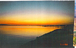 Click here to enlarge image and see more about item cs4925: Sunrise at Lewes Ferry Terminal