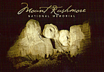 Click here to enlarge image and see more about item cs4937: Mt Rushmore National Memorial SD cs4937