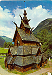 Borgund Stave Church Laerdal Norway cs5005