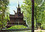 Fantoft Stave Church Bergen Norway cs5017