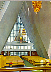 Interior Tromsdalen Church Norway cs5027
