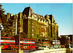 Click here to enlarge image and see more about item cs5051: Double Decker Buses Victoria British Columbia cs5051