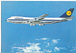Click here to enlarge image and see more about item cs5130: Lufthansa Boeing 747 Intercontinental Jet