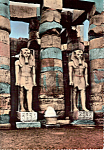 Click here to enlarge image and see more about item cs5137: Luxor Egypt Statutes of King Ramses II 1292 BC cs5137
