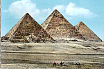 Click here to enlarge image and see more about item cs5154: The Pyramids of Giza Egypt cs5154
