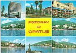 Click here to enlarge image and see more about item cs5172: Pozdrav iz Opatije  Croatia Postcard cs5172