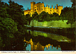 Click here to enlarge image and see more about item cs5178: Kilkenny Castle by Night Kilkenny Ireland Postcard cs5178