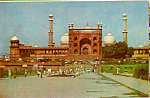 Click here to enlarge image and see more about item cs5197: Jama Masjid Delhi India cs5197