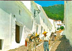 Click here to enlarge image and see more about item cs5244: Typical Street, Mijas, Malaga