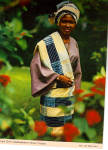 Click here to enlarge image and see more about item cs5259: African Town Girl