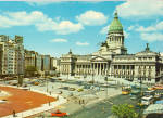 Click here to enlarge image and see more about item cs5300: Panoramic View of Congreso Building Buenos Aires Argentina cs5300