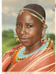 Click here to enlarge image and see more about item cs5307: Masai Woman