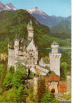 Click here to enlarge image and see more about item cs5312: Konigsschloss Neuschwanstein, Bavaria, Germany