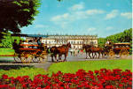 Click here to enlarge image and see more about item cs5335: Coach Drive to Herrenchiemsee Castle Bavaria Germany  cs5335