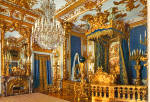 Click here to enlarge image and see more about item cs5387: Bedroom Konigschloss Herrenschiemsee Bavaria Germany cs5387