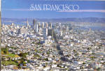 Click here to enlarge image and see more about item cs5392: San Francisco CA From Twin Peaks cs5392
