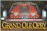 Click here to enlarge image and see more about item cs5415: Stage of the Grand Ole Opry cs5415