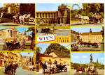 Click here to enlarge image and see more about item cs5425: Vienna Austria And Horse Cabs cs5425