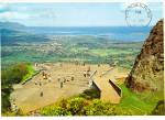 Click here to enlarge image and see more about item cs5428: Nuuanu Pali Lookout,Honolulu,Hawaii