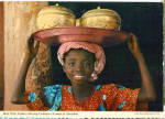 Click here to enlarge image and see more about item cs5440: Brass Ware Vendor, Africa