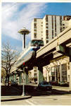 Alweg Monorail Seattle Washington cs5456