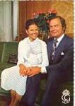 Click here to enlarge image and see more about item cs5462: The King of Sweden Carl XVI Gustaf cs5462