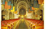 Interior of the Cadet Chapel, West Point, New York