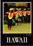 Hula Dancers Hawaii Postcard cs5536