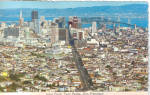 Click here to enlarge image and see more about item cs5558: San Francisco CA View from Twin Peaks cs5558