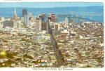 San Francisco CA View from Twin Peaks cs5559