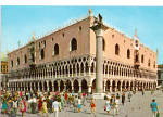 Click here to enlarge image and see more about item cs5592: The Palace of the Doges Venice Italy Postcard cs5592