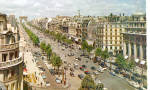 Click here to enlarge image and see more about item cs5602: Champs Elysees, Paris France