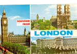 Click here to enlarge image and see more about item cs5618: Big Ben, Westminister Abbey, London