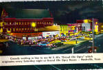 Grand Ole Opry House Nashville  cs5640 Cars 50s