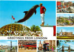 Click here to enlarge image and see more about item cs5690: Greetings From London England cs5690