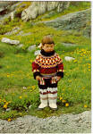 Click here to enlarge image and see more about item cs5712: Springtime South Greenland Boy in Costume