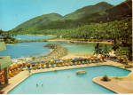 Click here to enlarge image and see more about item cs5735: Port Glaud from Mahe Beach Hotel Seychelles cs5735